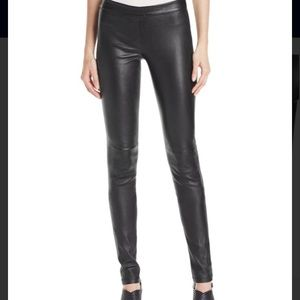 Theory Adbelle Leather Pants (NWT)